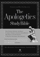 Imagen de portada para The Apologetics Study Bible : understand why you believe