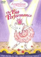 Cover image for Angelina Ballerina. The big performance