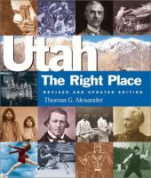 Cover image for Utah : the right place