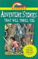 Cover image for Adventure stories that will thrill you.