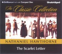 Cover image for The scarlet letter (Read by Dick Hill)