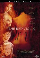 Cover image for The red violin