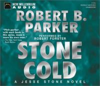 Cover image for Stone cold. bk. 4 Jesse Stone series