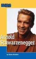Imagen de portada para Arnold Schwarzenegger : People in the news series