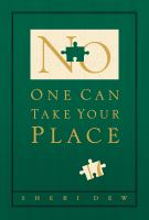 Cover image for No one can take your place
