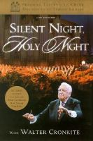 Cover image for Silent night, holy night with Walter Cronkite