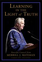 Cover image for Learning in the light of truth
