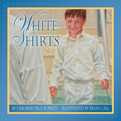 Cover image for White shirts : a baptism keepsake for boys