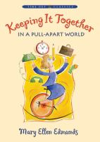 Cover image for Keeping it together in a pull-apart world