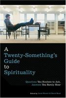 Cover image for A twenty-something's guide to spirituality