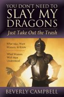 Cover image for You don't need to slay my dragons, just take out the trash