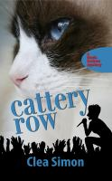 Cover image for Cattery Row. bk. 2 : Theda Krakow mystery series