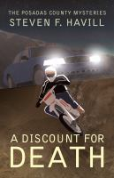 Cover image for A discount for death. bk. 11 [large print] : Posadas County mystery series