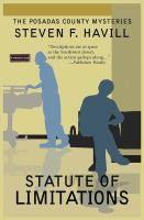 Cover image for Statute of limitations. bk. 13 : Posadas County mystery series