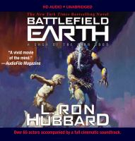 Cover image for Battlefield earth [sound recording CD] : Discs 1-22 : a saga of the year 3000