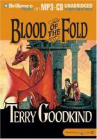 Imagen de portada para Blood of the fold. bk. 3 Sword of truth series