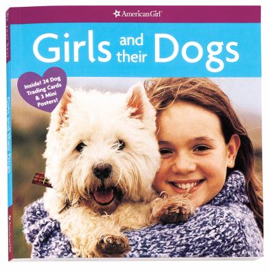 Cover image for Girls and their dogs