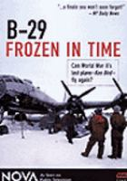Cover image for B-29 frozen in time