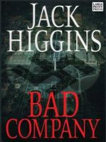 Cover image for Bad company. bk. 11 [large print] : Sean Dillon series