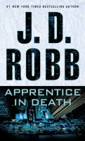 Cover image for Apprentice in death. bk. 43 [large print] : In death series