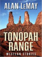 Imagen de portada para Tonopah Range : western stories