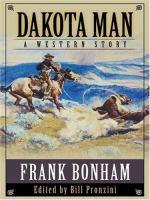 Imagen de portada para Dakota man : western stories