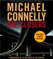 Cover image for The closers. bk. 11 Harry Bosch series