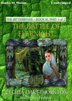 Imagen de portada para The battle of Evernight. bk. 3, part 1 Bitterbynde series