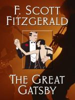 Cover image for The great Gatsby [large print]