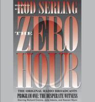Cover image for Zero hour. 1, The desperate witness