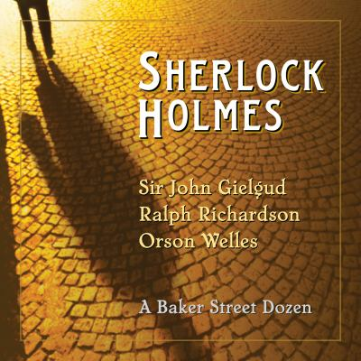 Cover image for Sherlock Holmes [sound recording CD] : a Baker Street dozen.