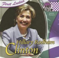 Cover image for Hillary Rodham Clinton