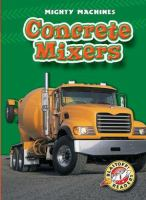 Cover image for Concrete mixers
