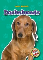 Cover image for Dachshunds