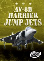 Cover image for AV-8B Harrier jump jets