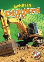 Cover image for Monster diggers : Monster machines series