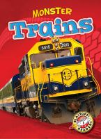 Cover image for Monster trains : Monster machines series