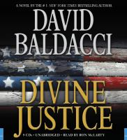 Cover image for Divine justice. bk. 4 The Camel Club series
