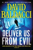 Cover image for Deliver us from evil. bk. 2 Shaw and James series