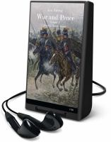 Cover image for War and peace. Volume 1