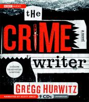 Cover image for The crime writer