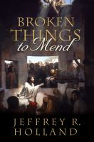 Cover image for Broken things to mend