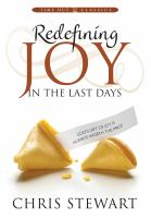 Cover image for Redefining joy in the last days