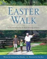Cover image for Easter Walk : a treasure hunt for the real meaning of Easter
