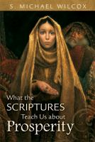 Cover image for What the scriptures teach us about prosperity