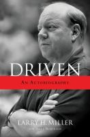 Cover image for Driven an autobiography