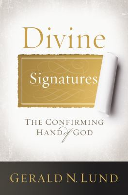 Cover image for Divine signatures the confirming hand of God