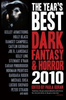 Cover image for The year's best dark fantasy & horror