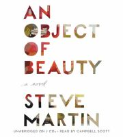 Cover image for An object of beauty a novel