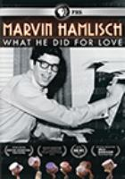 Cover image for Marvin Hamlisch [videorecording DVD] : what he did for love